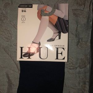 HUE Accessories - Hue opaque knew hi socks